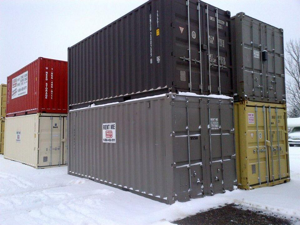 Indoor Outdoor Storage Mobile Pods Sea Containers For Sale