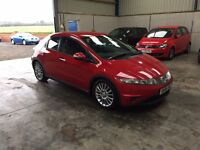 2007 Honda Civic se 2.2 cdti 5dr excellent guaranteed cheapest in country