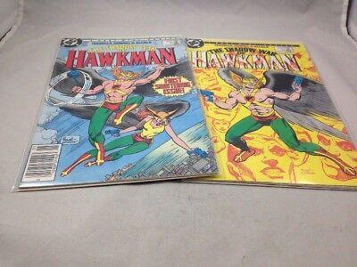 Shadow War of Hawkman # 1 & 2 DC Comics 1985 Dick Giordano Covers Unread NM