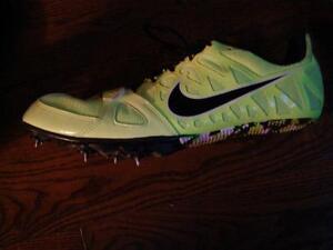 Nike sprinting spikes sz 12