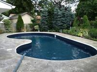 Swimming pool liners & renovations