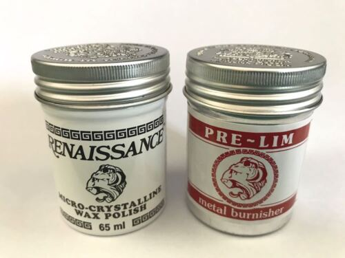 Renaissance Wax and Pre-Lim Twin Pack 65 ml cans