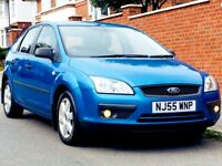 FORD FOCUS 1.6 SPORT 2005 80k LOW MILEAGE FSH MOT JUST SERVICED CLEAN&TIDY 3 MONTHS WARRANTY