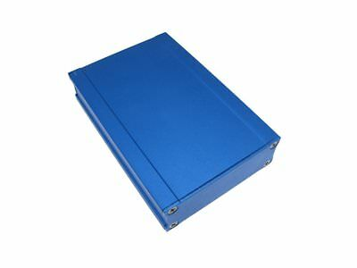 Aluminum Project Box Enclosure Diy 6522100mm Blue