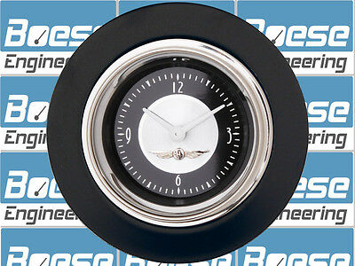49-50 Ford Car Black Clock Insert w/ Classic Instruments All American Tradition