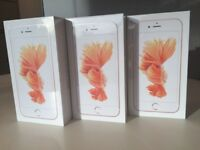 UNLOCKED BRAND NEW CONDITION 6s plus 16 GB new condition