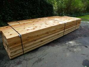 Cedar Siding Bevel Channel Pine T G Dog Houses 6x6 Other