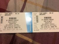 2x twin Atlantic tickets Glasgow 13/12