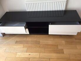 Sonorous LBA1840 TV Cabinet in White