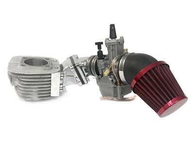 Dio Reed Valve Zeda Racing Cylinder and Carburetor Assembly -For 2 Stroke Engine