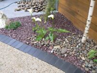 20 mm plum slate garden and driveway chips/ stones/ gravel