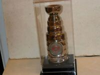 """8"""" Signed Stanley Cup - NHL Hockey Montreal Canadiens COA Dampho"""