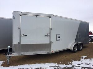 2017 ATC Raven  Enclosed Snowmobile Trailer