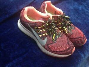 Nike Women's Air Zoom Structure 18 Shoes 37.5 fitness gym UK 4 Fitzroy North Yarra Area Preview