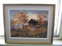 Magnifique tableau original de Ilona Karacsony à vendre