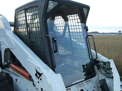 Bobcat S185 Lexan 12 Door Plus Side Windows Skid Steer Loader Glass
