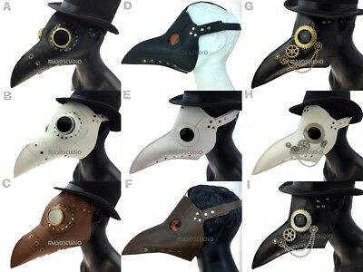 Raxwalker plague doctor Bird Mask Long Nose Beak Cosplay Steampunk Halloween](Plague Doctor Mask Halloween)