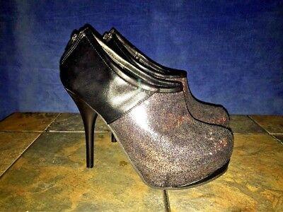 DEB Glitter Purple Sparkle Stilettos High Heels PLAYBOY Womens Shoes Size 7 👠 - Playboy Womens Shoes
