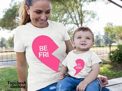 Family Matching T shirt Best Friend Mummy Mum Mother Daughter Son tee t-shirt