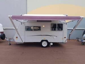 2009 Coromal Compac 402 Pop Top Caravan - UNIQUE REAR ENTRY! Barragup Murray Area Preview