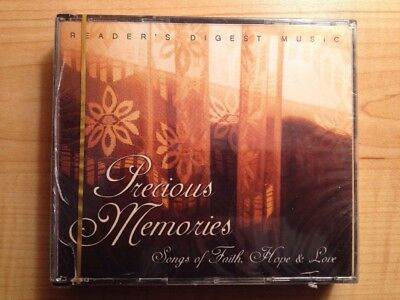 Reader's Digest Precious Memories Songs of Faith Hope & Love NEW & SEALED 4 CDs