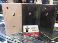 Apple iPhone 8 64gb unlocked brand new boxed apple warranty