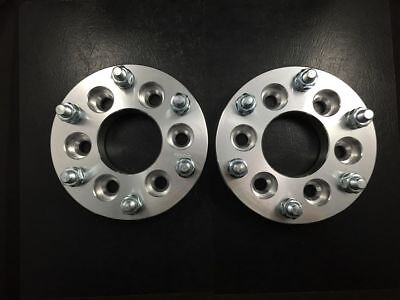 """2X WHEEL SPACERS ADAPTERS 6X114.3 TO 6X139.7 / 6X4.5 TO 6X5.5 2"""" 50mm THICK USED"""