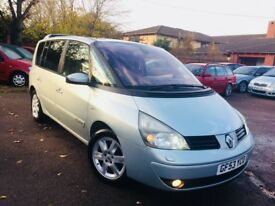 Renault Espace 3.0 tdi automatic full history full Mot 7 seater nationwide delivery 1495