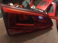 Vw Golf Mk7 Genuine Rear Left Inner Tailgate Light Complete Breaking Car