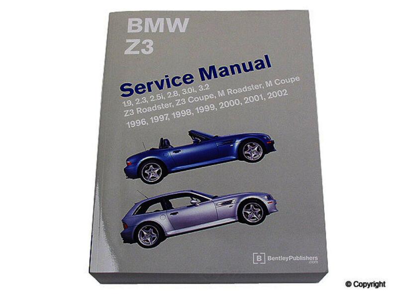 Bentley Repair Manual fits 1996-2002 BMW Z3  WD EXPRESS