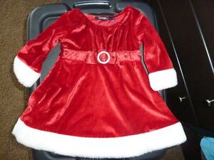 Red Christmas Dress - Size 2