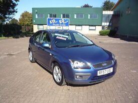Ford Focus 1.6 Zetec 5dr Auto (blue) 2007