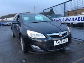 VAUXHALL ASTRA EXCITE (black)2011 Car Sales / Finance NO DEPOSIT REQUIRED Cheap Cars Swaps available