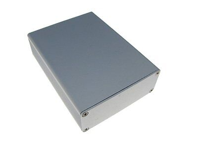 Aluminum Project Box Enclosure Diy 7429100mm Silver