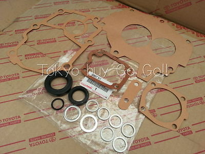 Toyota Corolla cp AE86 Manual Transmission Overhaul Gasket kit NEW Genuine Parts