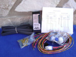 complete ultima 18-530 electronic wiring harness for harley custom choppers