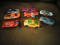 8 Different Classic Hot Wheels Dinky Cars