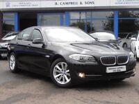 2011 BMW 520d SE 5 Series 181BHP 4 Door Saloon in Black