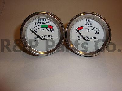 Temperature Fuel Gauge For Allis Chalmers D19 D21 170 175 180 185 190 200 210220