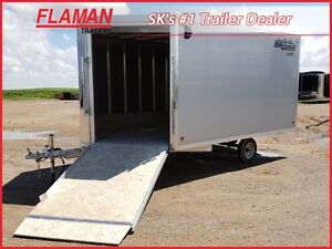 High Country 12' Enclosed Sled Trailer - 2015 Stock Discount!