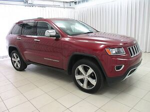 2015 Jeep Grand Cherokee LIMITED 4x4 SUV w/ NAV, ALLOYS, LEATHER