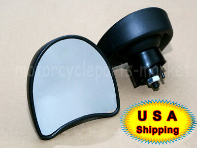 Rearview Fairing Mount Mirrors For Harley Touring Street Electra Glide 2014-2016 ()