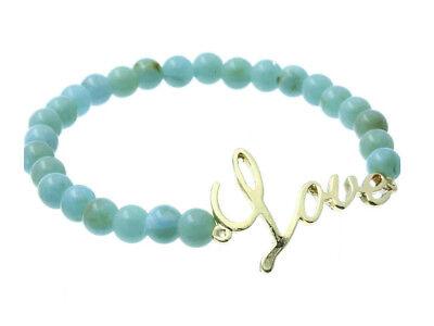 Bead Bracelet Ideas (LOVE Lucite Bead Stretch Bracelet ~ Gift Idea ~)