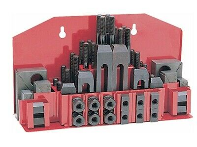52 Pc Clamping Kit Clamp 12 T-slot With 38-16 Studs For Bridgeport Mill