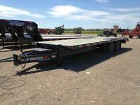 2013 Trailtech TD210-24 Industrial Flatdeck Trailer