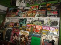 High times and other cannabis related magazines