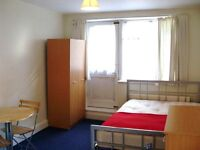 GREAT DEAL! BILLS INCLUDED! MODERN 1ST FLOOR STUDIO FLAT NEAT ZONE 3 TUBE, 24 HOUR BUSES & SHOPS