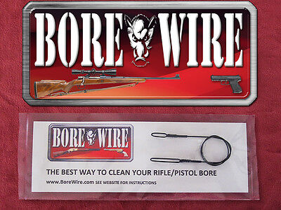 Bore Wire HD Pistol Bore Cleaning Tool - Rod - Better Then Bore Snake -