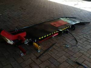 Motorcycle-Lift-Table-Air-Hydraulic-Bike-Mechanic-Stand Ironbank Adelaide Hills Preview