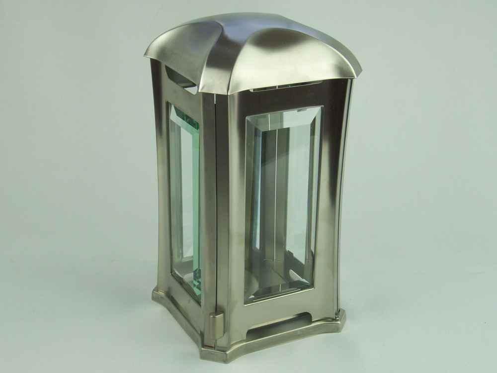 Lampada Di Tomba Venezia Acciaio Inox Lanterna Lumino Da Cimitero